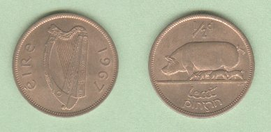 Catalog of Modern Irish Coin Prices 1928-1969